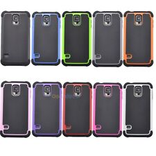 Heavy Duty Impact Rugged Hard Case Cover for Samsung Galaxy SV S5 i9600 SM-G900