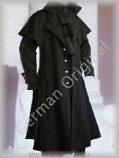 Victorian Country Style  Black Box Coat Vintage Goth Steampunk Pelerine
