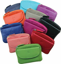 Prime Hide Soft Leather Small Coin Purse Great choice colourful Coin Purses 761