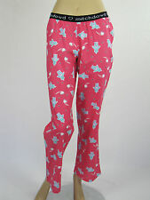 Mitch Dowd Ladies Sleepwear Pyjamas Lounge Wear Pants size XSmall Colour Pink