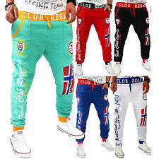ZAHIDA Men Women Tracksuit Bottoms Jogging Pants Trackies Fitness Walk Sport New