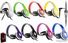 3.5mm Adjustable Stereo Headphone Earphone Headset For ALL Phones Tablets MP3 4