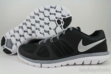 NIKE FLEX 2014 RUN BLACK/SILVER/COOL GRAY/WHITE RUNNING FREE 2013 MENS SIZES