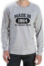 Made In 1964 Long Sleeve T-Shirt Funny Top 50th Birthday Gift Idea Mom Dad