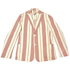 LEVI'S MADE AND CRAFTED SS14 BLAZER BOATING STRIPE