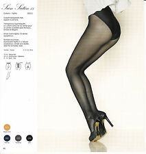 Gerbe, Paris, Sun Satin 15, sheer matte tights, 15 denier appearance