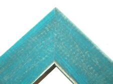 """1.5"""" Country French Teal Blue Rustic Distressed Weathered Picture Frame-Standard"""
