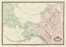 NORTH AMERICA AND EASTERN RUSSIA BY JULES RENOUARD 1860