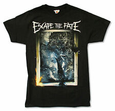 """ESCAPE THE FATE """"WINDOW"""" IMAGE BLACK T SHIRT NEW OFFICIAL ADULT"""