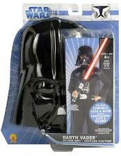Darth Vader Action Suit Kit Star Wars Movie Sith Lord Halloween Child Costume
