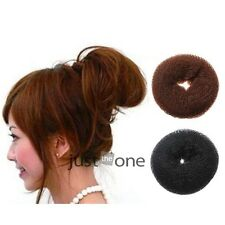 New Chic Womens Hair Donut Bun Ring Shaper Styler Maker Tools 2 Colors 3 Sizes