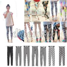 Sexy Lady Women Floral Print Slim Tights Pants Legging Trousers Stretch Cotton