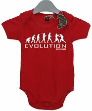 Evolution Boxing Baby Grow Unisex Babies Playsuit Boxer Gym Baby