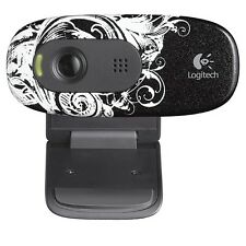 Logitech C260 HD Webcam 720p Video 3MP Pics Widescreen w/ Built in Mic for PC
