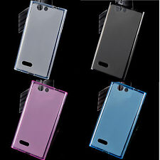 "Soft TPU phone Case Cover for 5"" ZTE Blade L2  /  4"" ZTE  Kis 3"