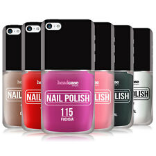 HEAD CASE DESIGNS NAIL POLISH HARD BACK CASE COVER FOR APPLE iPHONE 5C