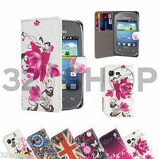WALLET  LEATHER CASE COVER FOR Samsung Galaxy Pocket Neo S5310 SCREEN PROTECTOR
