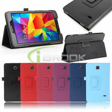PU Leather Case Smart Cover W/sleep for Samsung Galaxy Tab 4 8.0 8inch SM-T330NU