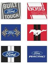 "Choose Your FORD Motor Company Theme 34 x 45"" All-Star Floor Mat Area Rug"