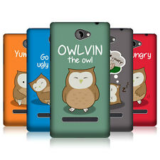 HEAD CASE OWLVIN THE OWL SNAP-ON BACK COVER FOR HTC WINDOWS PHONE 8S