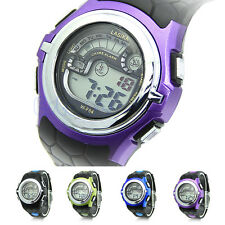 Multi-Function Cool Sports Watch LED Analog Digital Waterproof Alarm Wrist Watch