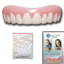 Instant Smile Teeth Dr. Baileys False Cosmetic Fake Dentures Oral Dental Regular