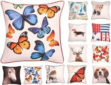 "Photograph Cushion Covers 17"" x 17"" Scatter Cushions Bright Decorative Cushions"