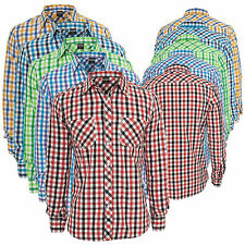 Shirt URBAN CLASSICS Men's Tricolor Big Checked Summer Plaid Button Up TB414