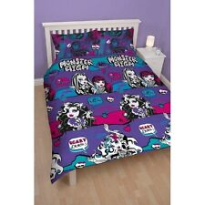 NEW DESIGN MONSTER HIGH 100% OFFICIAL DUVET COVER SET SINGLE DOUBLE OR CURTAINS