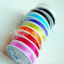 Stretch Elastic String .8mm 5 Meters for Kandi Rave Pony Bead Bracelets Jewelry