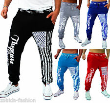 Men's Women's Tracksuit Bottoms Jogging Trousers Pants Trackies Fitness Sports