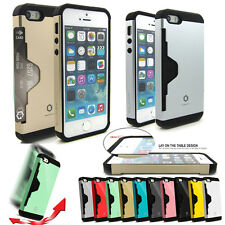 ShockProof Rugged Armor Card Case hard cover for iPhone 5 5S Galaxy S4 S5 Note 3