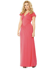 Holly Willoughby Plain Jersey Maxi Dress