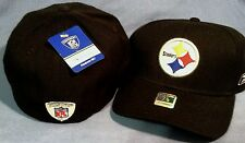 PITTSBURGH STEELERS COACHES ON FIELD TEAM COLOR PRO SHAPE FITTED NFL CAP REEBOK