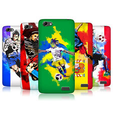HEAD CASE FOOTBALL SPLASH PROTECTIVE SNAP-ON CASE FOR HTC ONE V