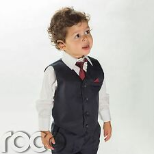 Boys navy suit, Boys Page Boy suits, Boys navy waistcoat suit, Boys suits