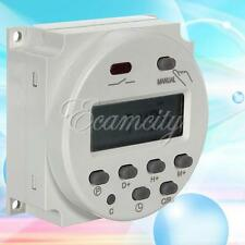 New 110V/220V AC Timer Digital LCD Power Programmable Time Switch 16A Relay