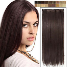 10 days bid Straight Curly clip in Hair Extensions finest clip-ins brand new nwt