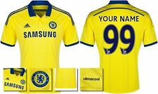 *14 / 15 - ADIDAS ; CHELSEA AWAY SHIRT SS / PERSONALISED = KIDS & JUNIOR SIZE*