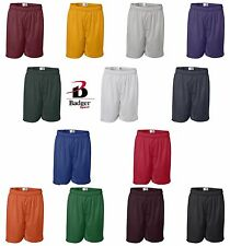 "Badger Mens S-2XL 3XL 4X 5XL 7"" Pro Mesh Rugby Crossfit Basketball Shorts b-7207"