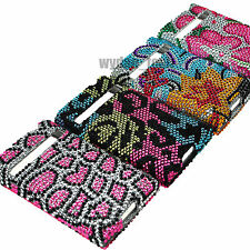 For LG Optimus Logic L35g Dynamic Tracfone Bling Hard Case Fitted Cover