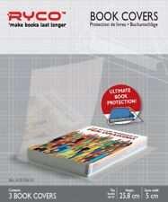 Ryco School Book Covers Self-Adhesive PVC Height 22.5 cm -Trim to Size, ZYX3