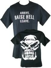 Stone Cold Steve Austin Raise Hell Leave Mens Black T-shirt