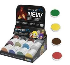 Make Up FX Aqua Face & Body Paint 17 Colours Face Painting Stage Make Up