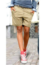 Only Chino Shorts Gr. 36 (36/38) trendy Baumwollhose in dunkelbeige *NEU*