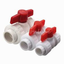 New Rotary Knob MDPE Plastic PPR Stop Tap for Water Pipe Liquid Valve 3 Sizes