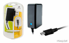 2 AMP New Micro USB Universal Battery Travel Home Wall Charger for LG Cell Phone