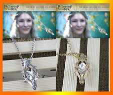 2 Colors The Hobbit Phial Of Galadriel Necklace Fashion Europe Jewelry Jf1748
