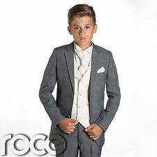 Boys Grey Suit, Page Boys Suits, Wedding Suits, Prom Suits, Formal Suits
