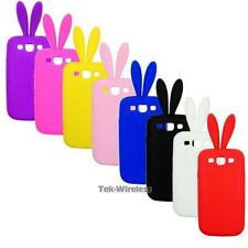 Bunny Rabbit Ears Silicone Soft Rubber Gel Case For Samsung Galaxy S3